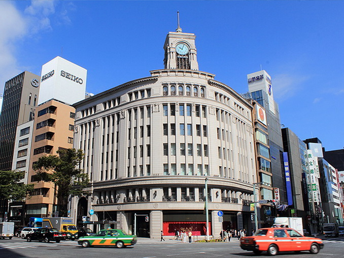 Ginza Shopping District