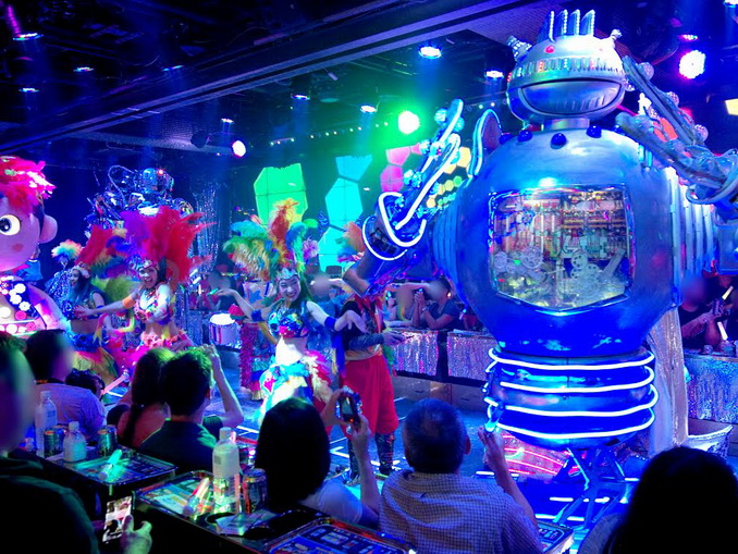 Robot Show Entertainment Plan